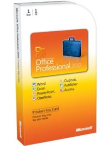 Microsoft product key  office words