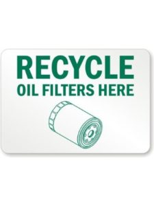 RecycleReminders    recycle oil filters