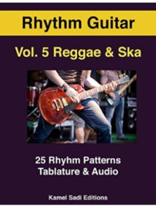 Kamel Sadi Editions    reggae guitars