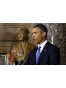 ConversationPrints    rosa park statues