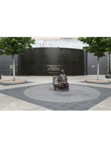 Vintography    rosa park statues