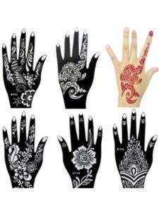 xmasir safe  henna tattoo kit