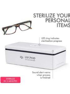 UV POD setup  uv sterilizers