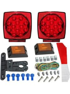 JUNGLE ROAD CAR SUPPLIES submersible 80  led trailer light kits