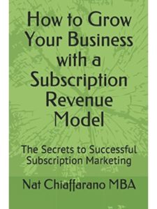 Independently published    successful subscription businesses