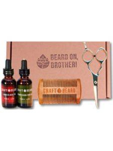 Craft Beard target  mustache scissors