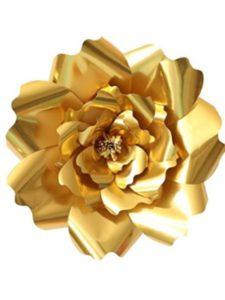 FOONEE template  tissue paper flowers