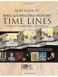 Rose Publishing timeline  bible world histories
