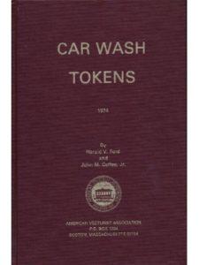 American Vecturist Association token  car washes