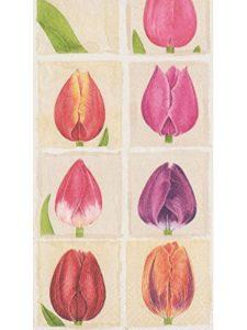 Caspari tulip  tissue papers