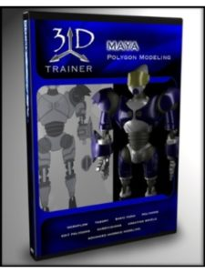 3DTrainer.com tutorial maya  3d modelings