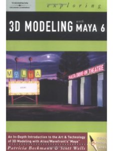 Thomson Delmar Learning (Book & CD edition) tutorial maya  3d modelings