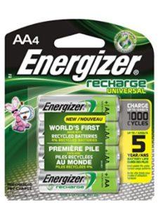 Energizer ursa mini  battery lives