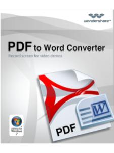 Wondershare Software, LLC vista  pdf converters