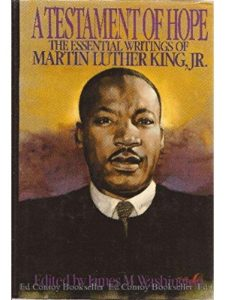 Harper & Row writing  martin luther kings