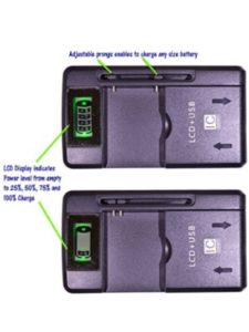 Red Dot Wrireless yotaphone 2  battery lives