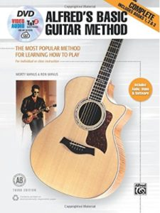 Alfred Music best  guitar learning methods