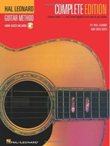 Hal Leonard best  guitar learning methods
