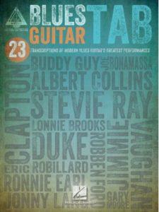Hal Leonard    blue guitar tabs