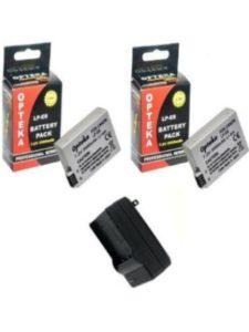 Opteka canon 700d  battery lives