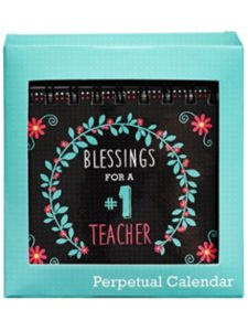 Christian Art Gifts desk pad calendar