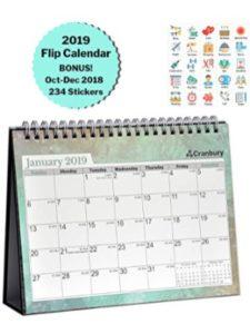 Cranbury desk pad calendar