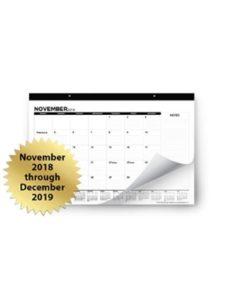 Royal Mountain Supply Co. desk pad calendar