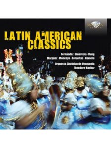 Brilliant Classics latin american music