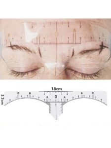 Eyebrow Microblading Ruler compass  tattoo templates