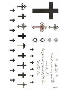 MapofBeauty cross  henna tattoos