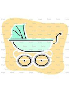 Art of Eric Gunty cupcake cake  baby strollers