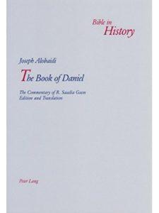 Peter Lang AG, Internationaler Verlag der Wissenschaften daniel  bible histories