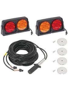 Wesbar deluxe 12 volt  trailer light kits
