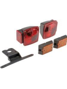 amazon deluxe 12 volt  trailer light kits