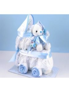 DIBSIES Personalization Station diaper cake  baby carriages