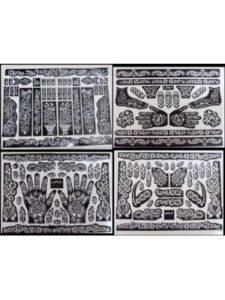 DUBAI STENCILS henna designs