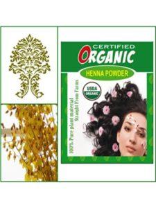 Misha dye golden brown  henna hairs