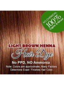 Organic Henna hair dye golden brown  henna hairs