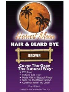 Henna Hut dye harvest moon  henna hairs