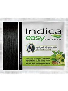 Indica dye indian  henna hairs