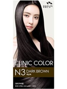 SOMANG dying  dark brown hair with hennas