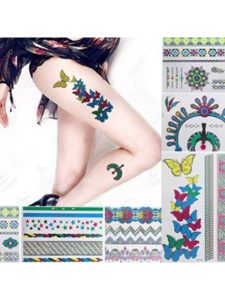 BlueZOO fake  henna tattoo kit
