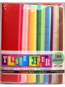 Creative Hobbies flame  tissue papers