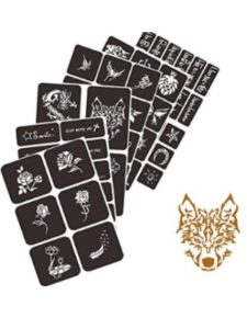 TOOBIT glitter  henna tattoo kit