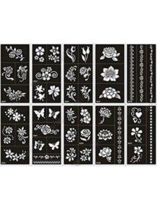 xmasir glitter  henna tattoo kit