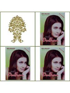 GaneshaSpice golden brown  henna hair colors