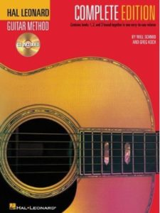 CD's are no longer included. The Publisher now Provides ONLINE RESOURCES.    guitar method complete editions