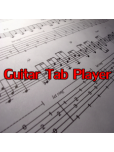 AllanApp   guitar tabs without editor