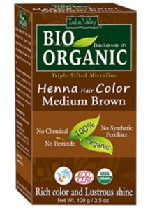 Indus Cosmeceuticals hair  henna hair color greys