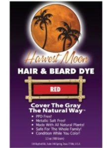Henna Hut hair dye orange